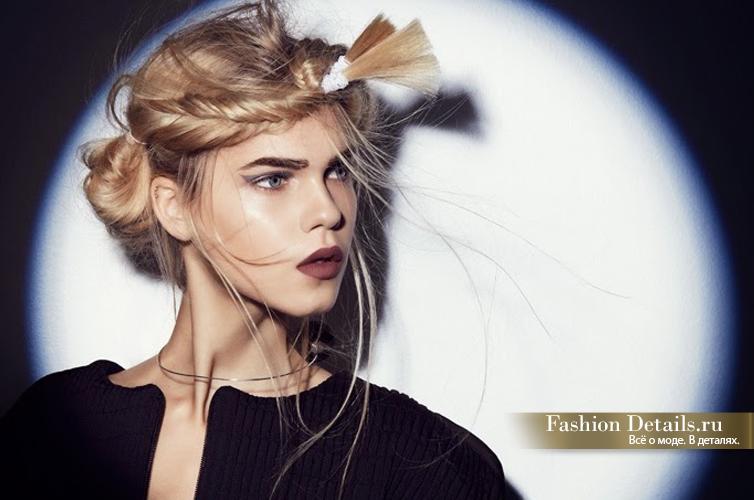 beauty look, модные косы