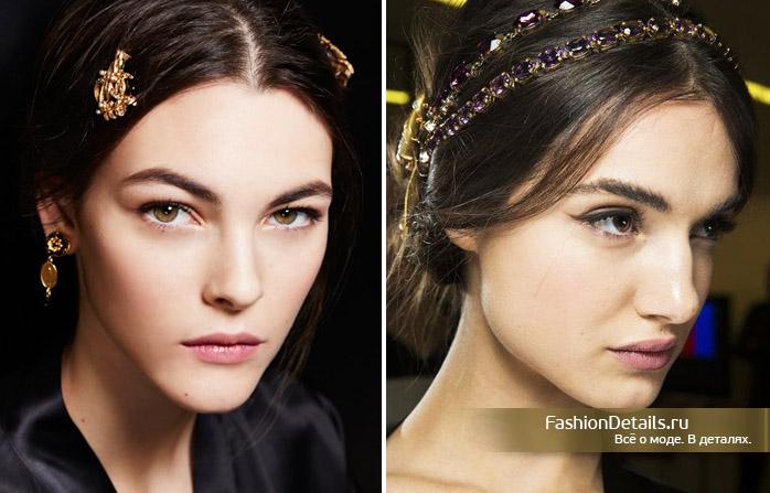 как сделать макияж Dolce & Gabbana, макияж дольче габанна, макияж с подиума, схема макияжа, модный образ