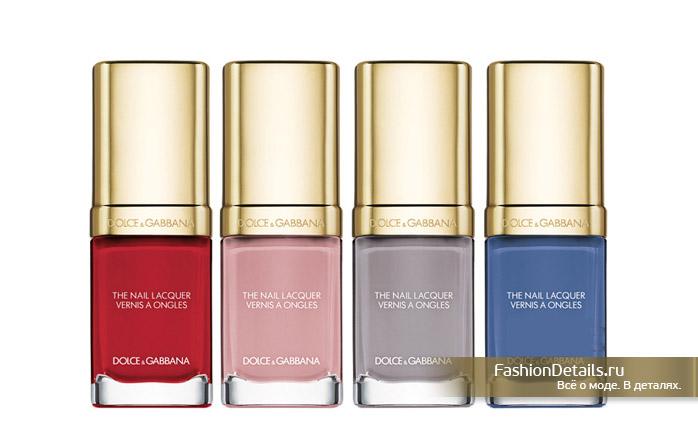 коллекция косметики Dolce & Gabbana, лак для ногтей дольче габанна