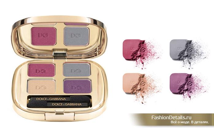 коллекция косметики Dolce & Gabbana, тени для глаз дольче габанна