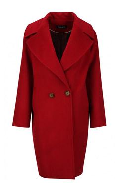 красное пальто, с чем носить красное пальто, пальто, какое пальто