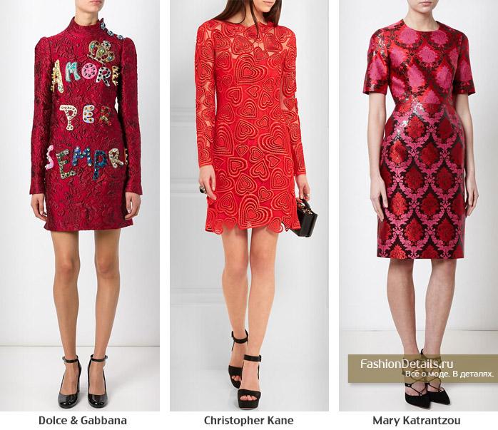 модные платья, красное платье, какое платье выбрать, модные тенденции 2016