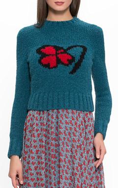 PHILOSOPHY DI LORENZO SERAFINI, свитер синий, какой свитер в моде, купить красивый свитер