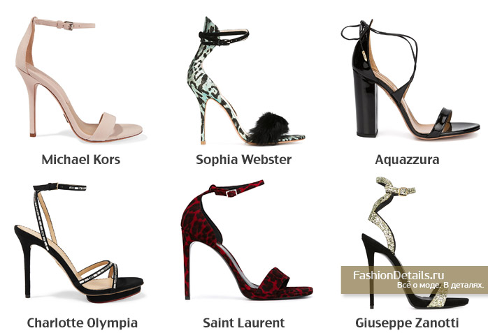 обувь для вечернего платья, босоножки для вечеринки