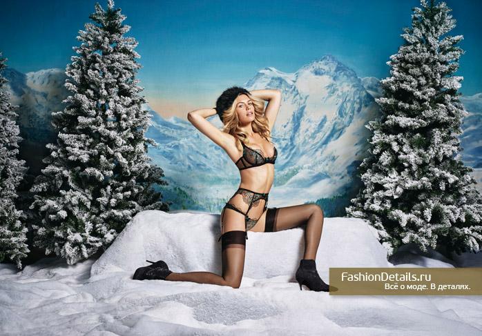 Agent Provocateur Christmas 2015 Lookbook 1