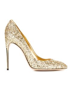 золотые туфли SEBASTIAN MILANO