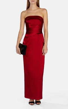красное платье, karen millen вечернее платье