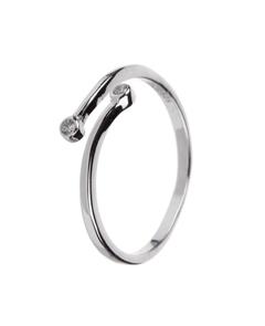 кольцо с фианитом, актуальные кольца, магазин модных колец