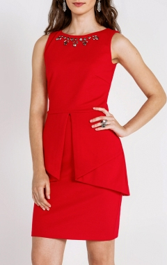 Платье Concept Club, красное платье, какое платье