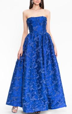платье синее ISABEL GARCIA