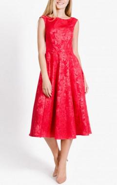 Платье Zarina, красное платье, вечернее платье