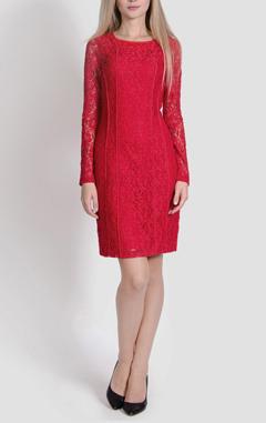 Платье Zarina, красное платье, выбрать красное платье, какое платье