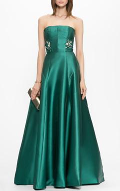платье зеленое ISABEL GARCIA, длинное платье, вечернее платье