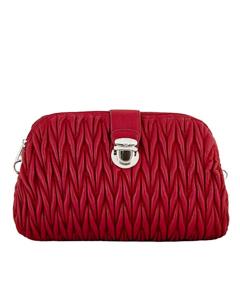 Sabellino, красный клатч, маленькая сумка, какая сумка, пайетки