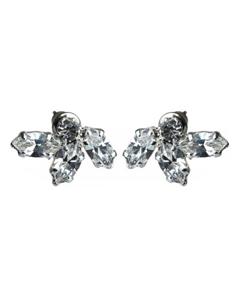 кристаллы сваровски, какие серьги, серьги гвоздики, серьги с камнями