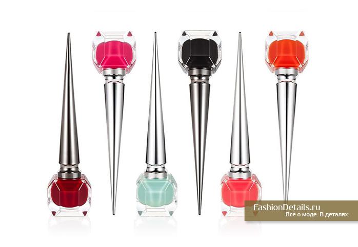 Louboutin beauty, лак для ногтей лабутьен, красота, маникюр 2016, модный лак для ногтей 2016, лабутьен лак