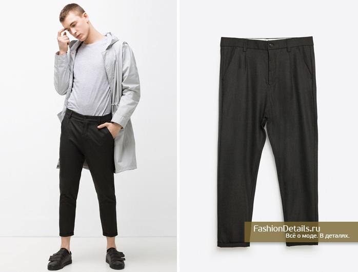 Zara 016, весенняя коллекция, мужской стиль, шопинг, зара, мужская одежда, мужские брюки, укороченные брюки