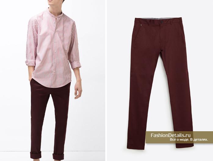 Zara 016, весенняя коллекция, мужской стиль, шопинг, зара, мужская одежда, мужские брюки, цветные джинсы