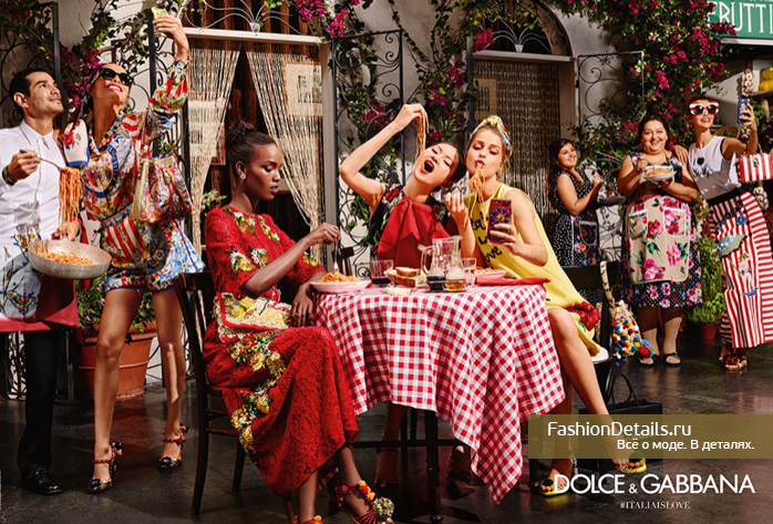 Dolce & Gabbana spring 2016 campaign