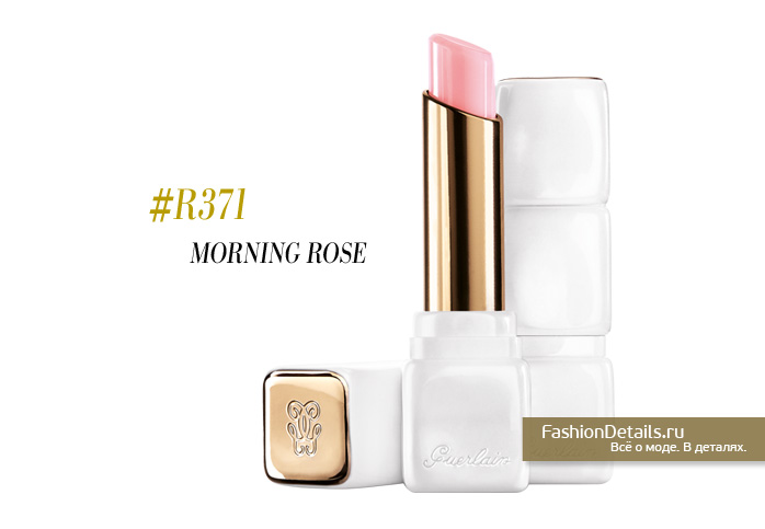 GUERLAIN KISSKISS ROSELIP morning rose