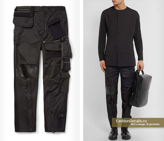 мужской стиль 2016 - необычные брюки от Balenciaga