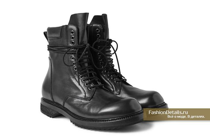актуальные мужские ботинки на весну 2016