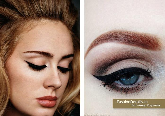 как сделать макияж адель
