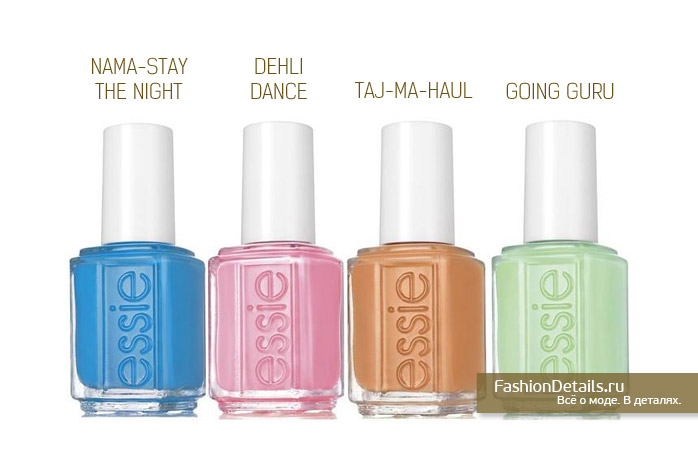 Essie Resort 2016 Collection