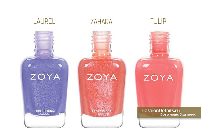 Zoya Petals Spring 2016 Collection