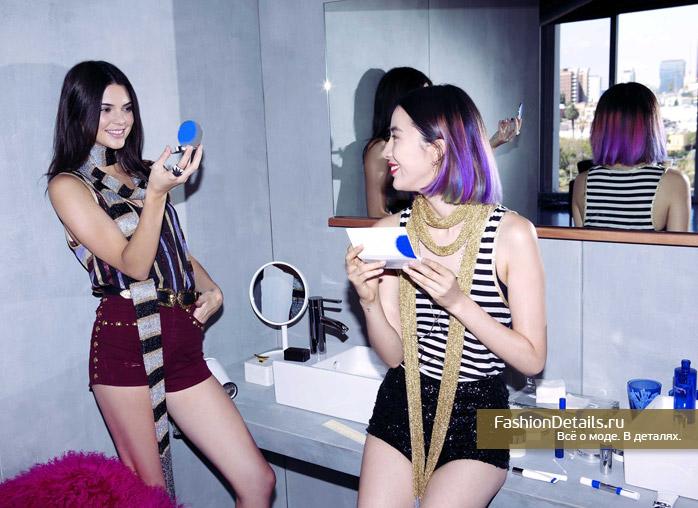 Kendall Jenner и блоггер  Irene Kim