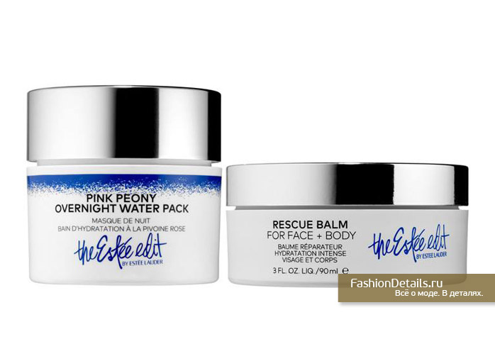 Peony Overnight Water Pack, Rescue Balm for Face + Body