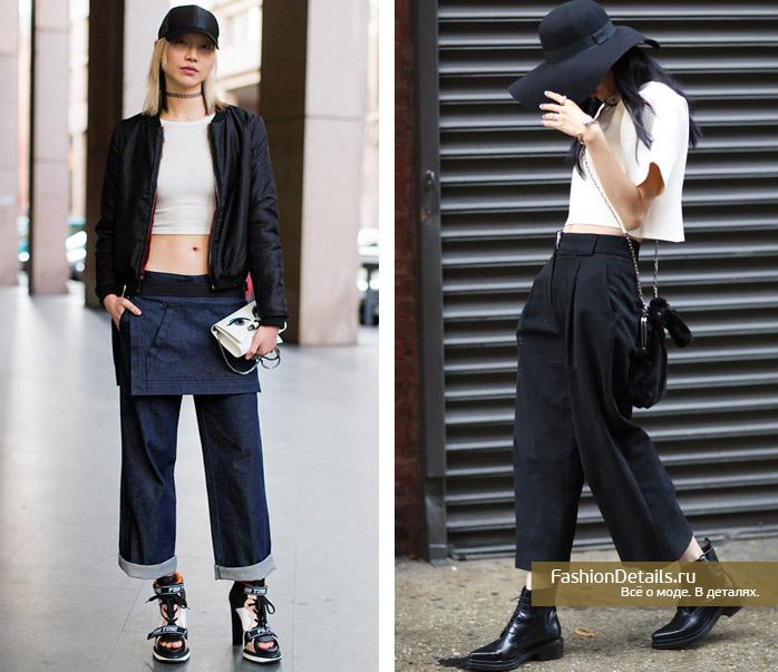 модные образы стрит стайл весна 2016