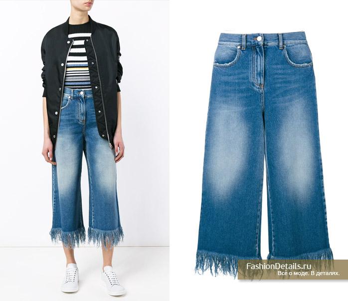 джинсы кюлоты MSGM