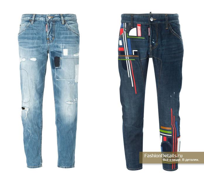 джинсы DSQUARED2 2016