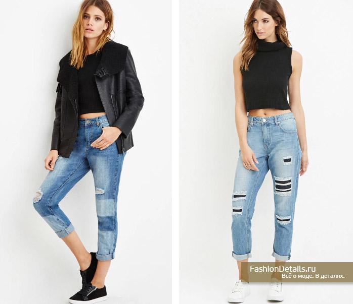 модные джинсы 2016, Forever21