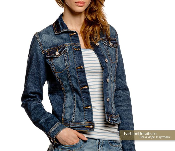 джинсовая куртка TOM TAILOR
