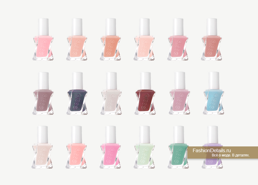 ESSIE Gel Couture цвета 1