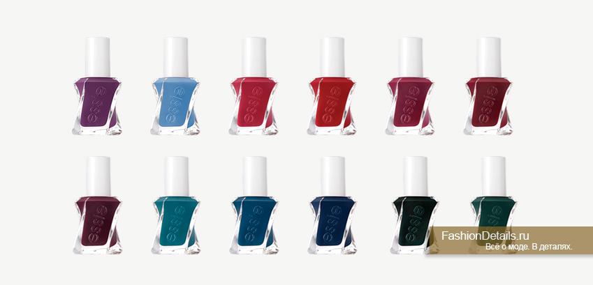 ESSIE Gel Couture цвета 3
