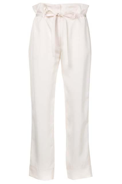 THEORY расклешенные брюки со шнурком
