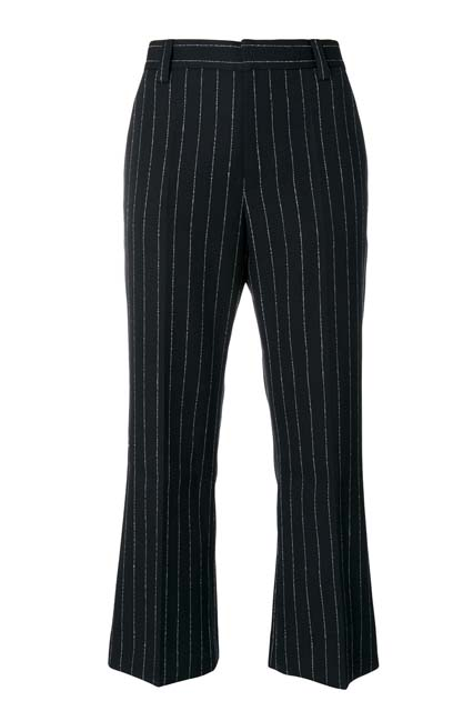 MARC JACOBS укороченные брюки в полоску