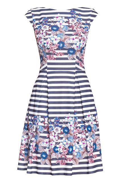 Платье в полоску STELLA DI MARE
