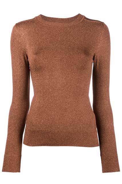 JOOS TRICOT трикотажный свитер с люрексом