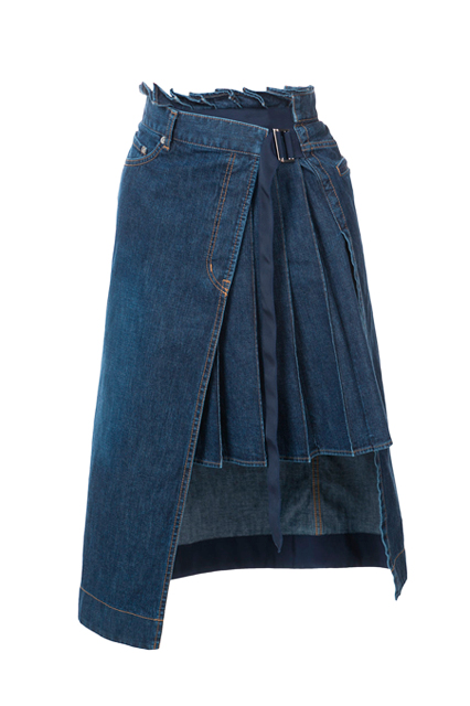 SACAI юбка джинсовая