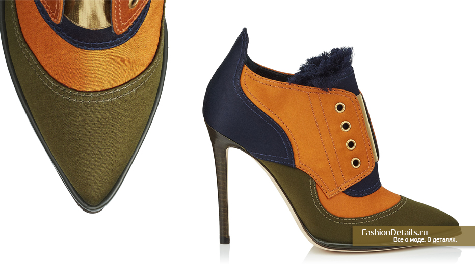 Jimmy Choo Сатиновые ботинки - MITSU