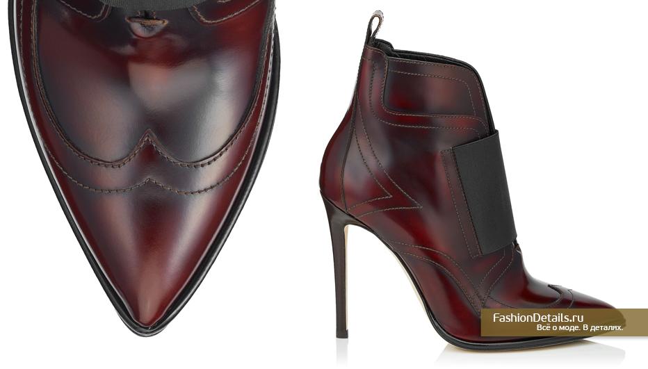 Jimmy Choo Кожаные ботинки - MAZZY