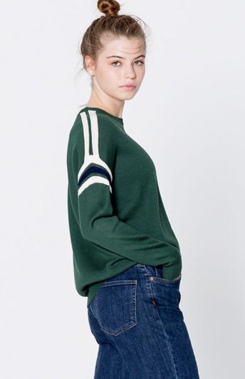 Пуловер PULL&BEAR спортивный