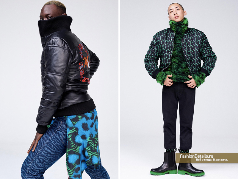 мужская коллекция KENZO X H&M