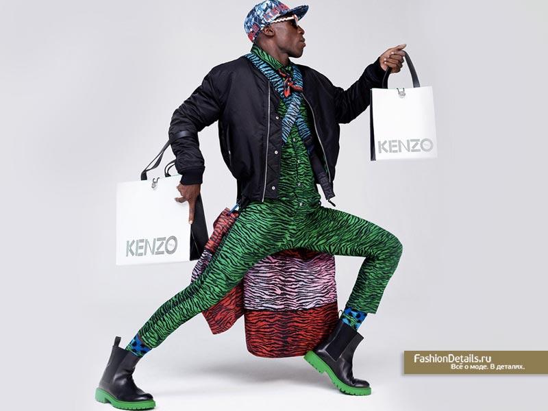 KENZO X H&M новая коллекция 2016