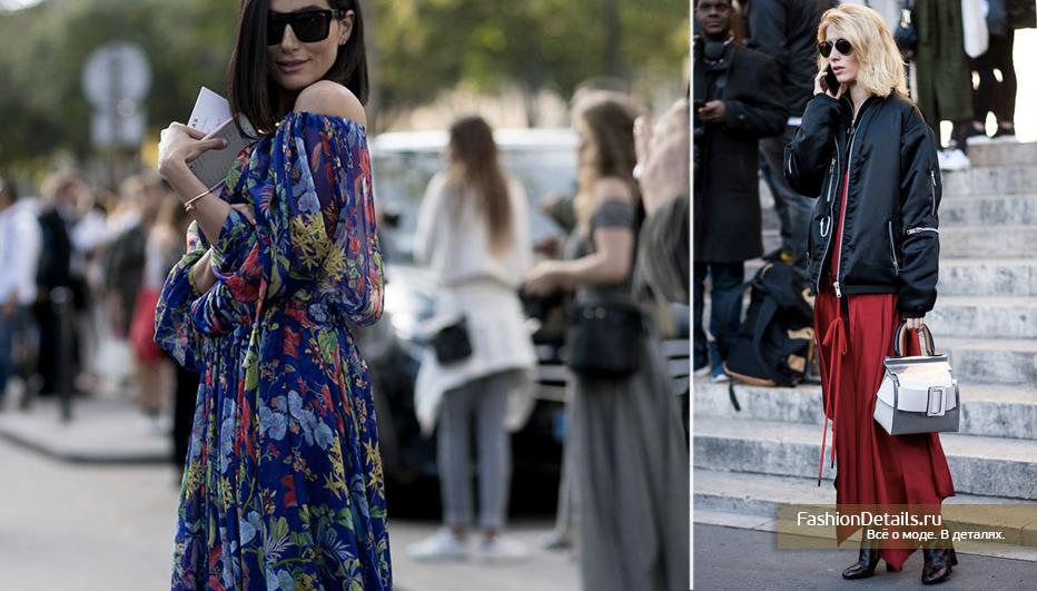 образы гостей недели моды
