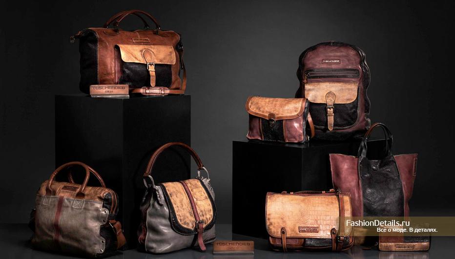 дорожные кожаные сумки Taschendieb Wien